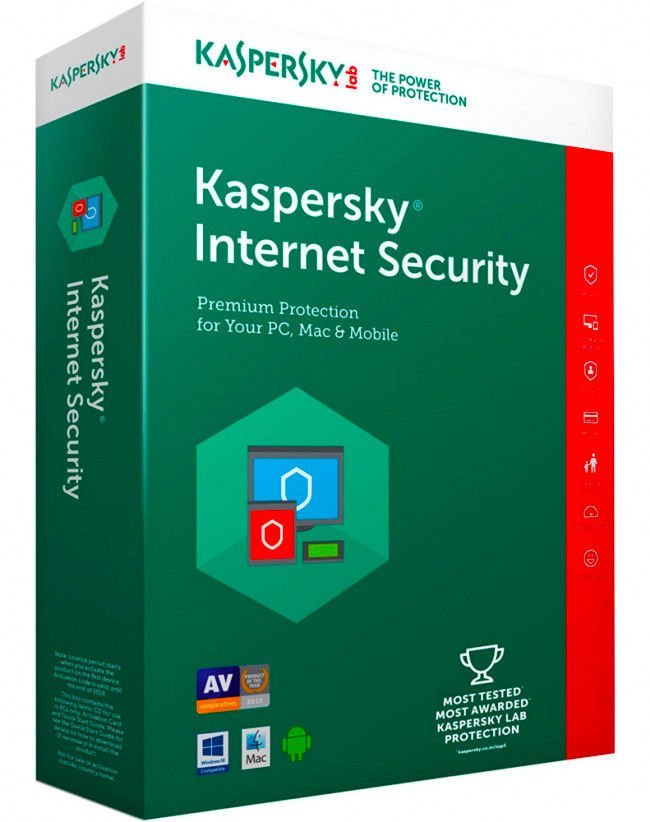 KASPERSKY INTERNET SECURITY 2019 1 DEVICE PC 1 YEAR GENUINE CODE /& OFFICIAL LINK